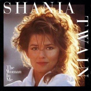 Paroles de chansons et pochette de l'album The woman in me de Shania Twain