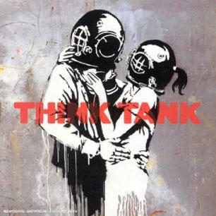 Paroles de chansons et pochette de l'album Think tank de Blur