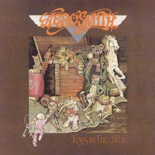 Paroles de chansons et pochette de l'album Toys in the attic de Aerosmith