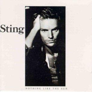 Paroles de chansons et pochette de l'album ...nothing like the sun de Sting (& The Police)
