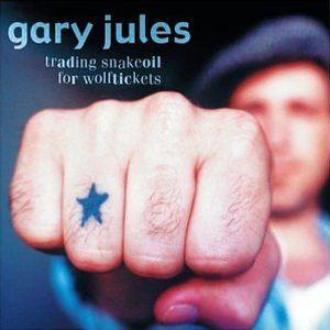 Paroles de chansons et pochette de l'album Trading snakeoil for wolftickets de Gary Jules