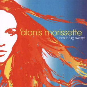 Paroles de chansons et pochette de l'album Under rug swept de Alanis Morissette