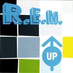 Paroles de chansons et pochette de l'album Up de R.E.M.