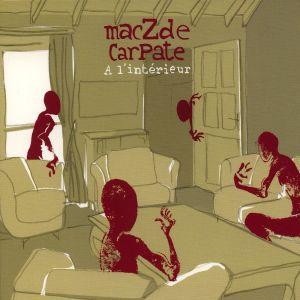 Paroles de chansons et pochette de l'album à l'intérieur de Maczde Carpate