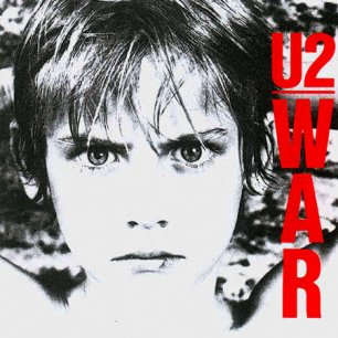 Paroles de chansons et pochette de l'album War de U2