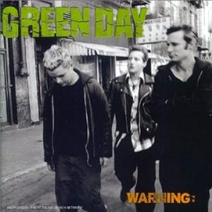 Paroles de chansons et pochette de l'album Warning de Green Day