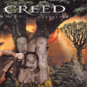 Paroles de chansons et pochette de l'album Weathered de Creed