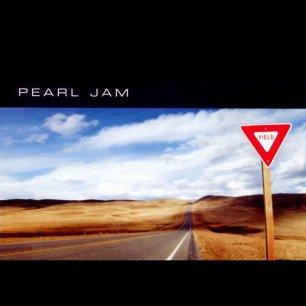 Paroles de chansons et pochette de l'album Yield de Pearl Jam