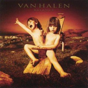 Paroles de chansons et pochette de l'album Balance de Van Halen