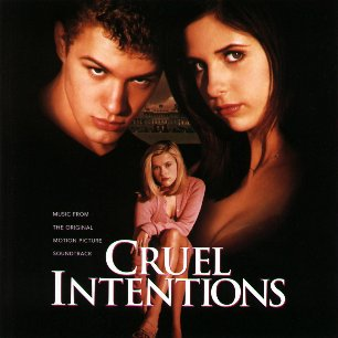 Paroles de chansons et pochette de l'album Cruel intentions de Counting Crows