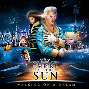 Paroles de chansons et pochette de l'album Walking on a dream de Empire Of The Sun
