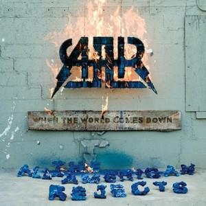 Paroles de chansons et pochette de l'album When the world comes down de All-American Rejects
