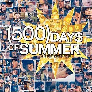 Paroles de chansons et pochette de la bande originale de film (500) days of summer