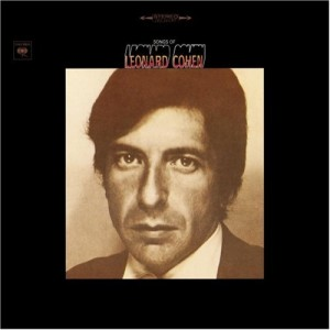 Paroles de chansons et pochette de l'album Songs of Leonard Cohen de Leonard Cohen