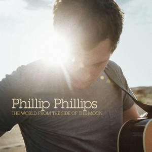 Paroles de chansons et pochette de l'album The world from the side of the moon de Phillip Phillips