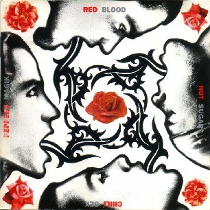 Paroles de chansons et pochette de l'album Blood sugar sex magik de Red Hot Chili Peppers