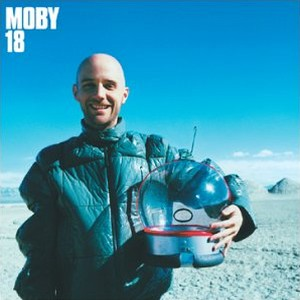 Paroles de chansons et pochette de l'album 18 de Moby