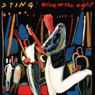 Paroles de chansons et pochette de l'album Bring on the night (CD 1) de Sting (& The Police)