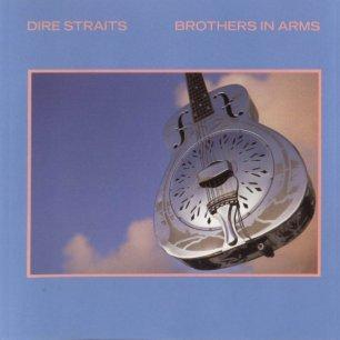 Paroles de chansons et pochette de l'album Brothers in arms de Dire Straits