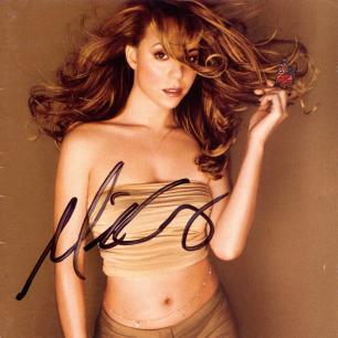 Paroles de chansons et pochette de l'album Butterfly de Mariah Carey