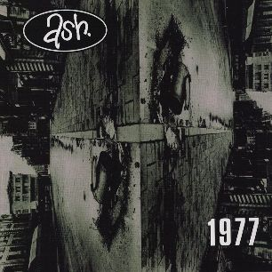 Paroles de chansons et pochette de l'album 1977 de Ash